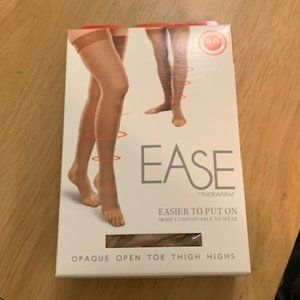 Therafirm Ease Sand Thigh High Compression Sock SL